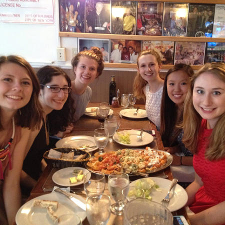 Group Dinner in Little Italy
