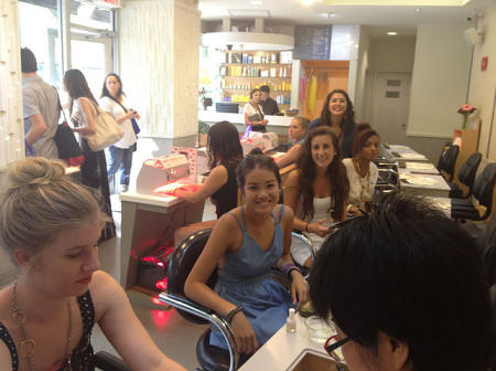 Manis/Pedis During Fashion Summer Camp