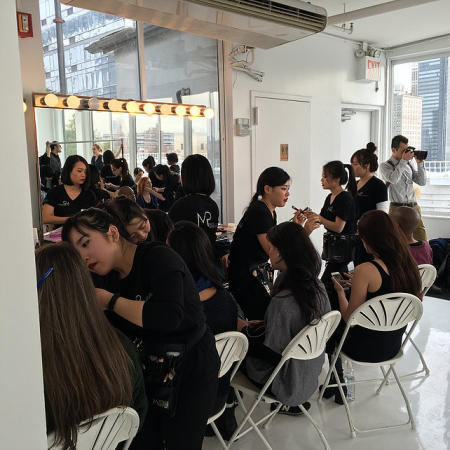 Hair and Makeup at NYFW